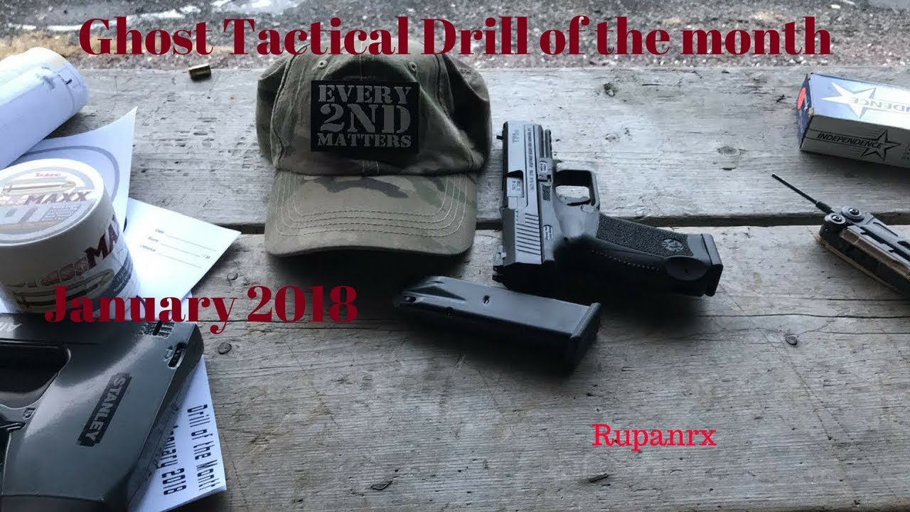Ghost Tactical Drill of the month January 2018