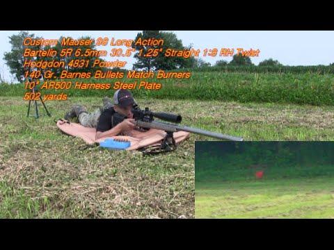 Barnes Bullets Match Burners Hodgdon 4831 Powder 260 Ackley Improved by Nito Mortera