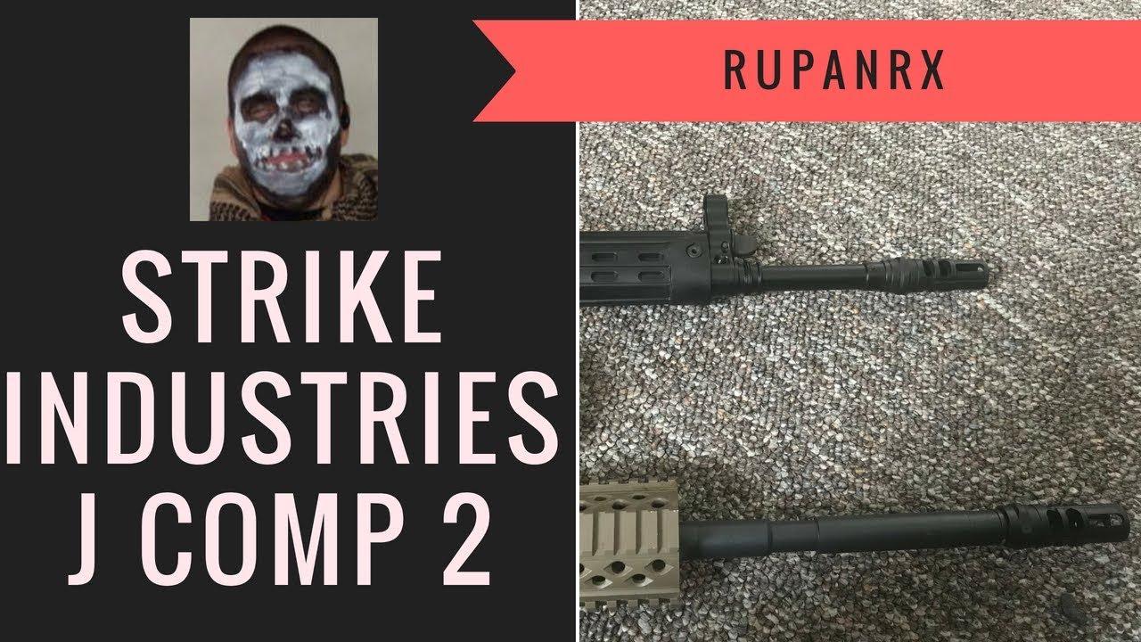 Strike Industries Jcomp gen2 on C308 and AR15