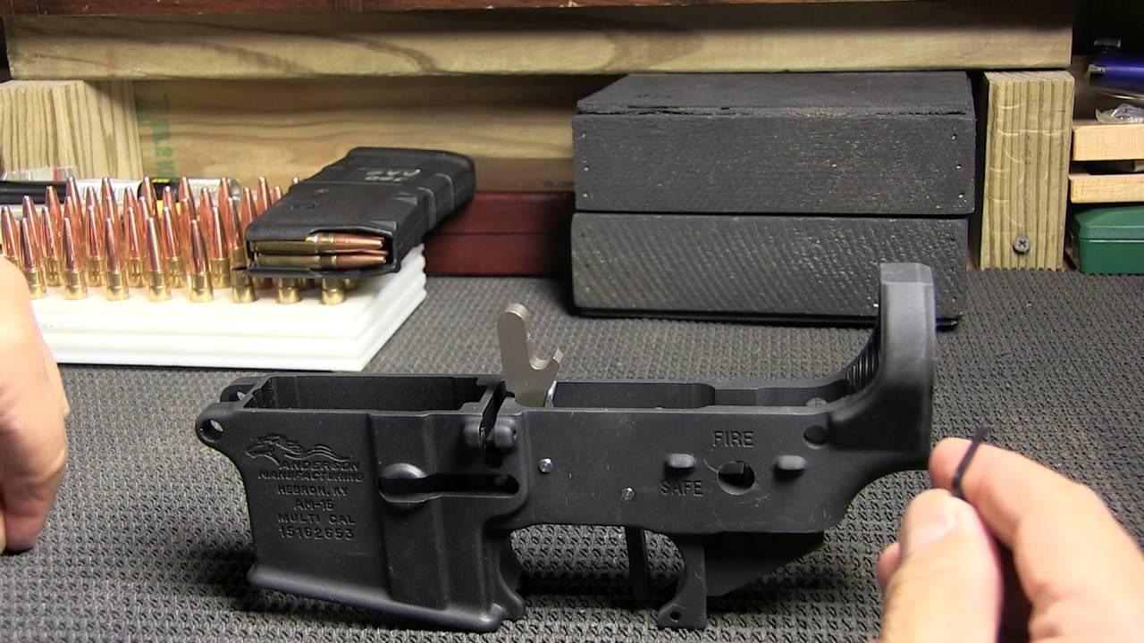 300 Blackout Pistol Build, Part 1, PC Armament 3 lb  Drop In Trigger