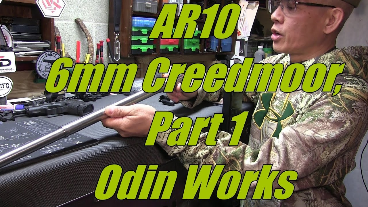 6mm Creedmoor Put Together, Part 1 Odin Works