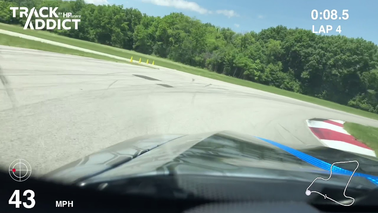 BMW X6 M on the North Track at Autobahn Country Club
