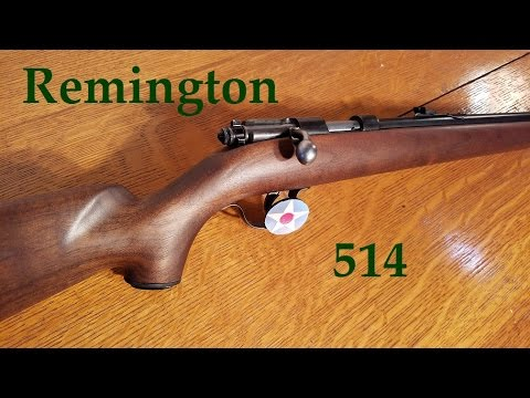 My Remington 514 .22 Single Shot.