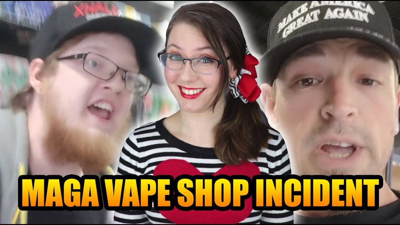 Vape Shop Clerk Refuses Trump Supporter, Gets Fired | Xhale City Vape
