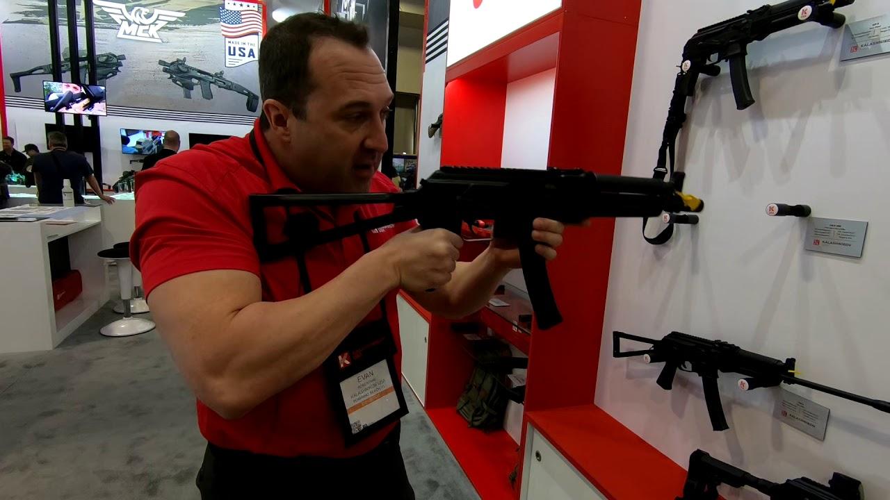 Kalashnikov KR9 & KP9 SHOT Show 2019