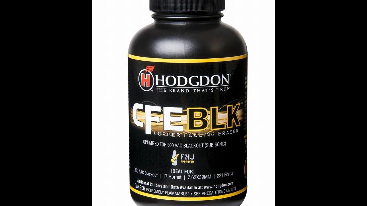 Hodgdon Powder CFEBLK 1st Look 300 Blackout