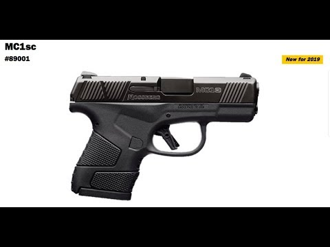 Mossberg MC1SC...the details so far. SHOT Show 2019 Preview!