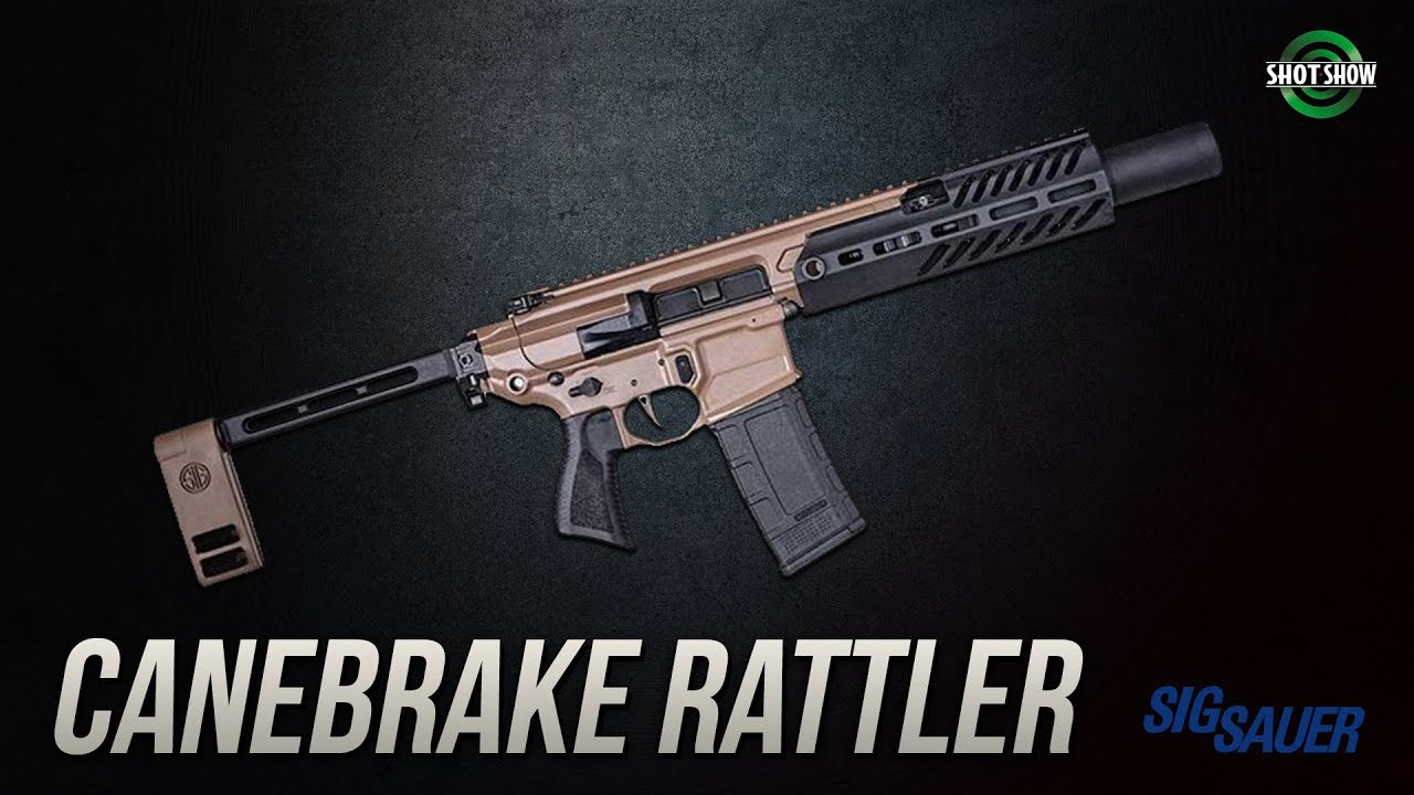 Sig Sauer MCX Rattler Canebrake  - SHOT Show 2019