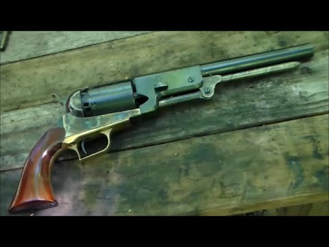 Shooting the Colt 1847 Walker Revolver