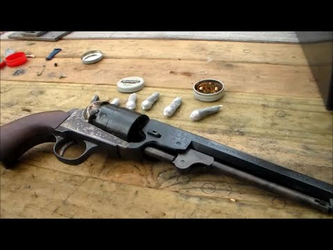 Shooting the Colt 1851 Navy Revolver