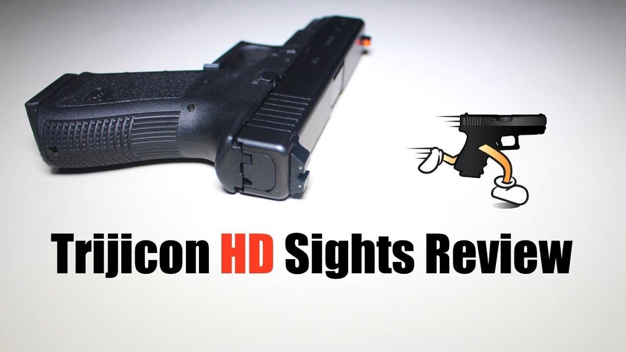 Trijicon HD Night Sights Review