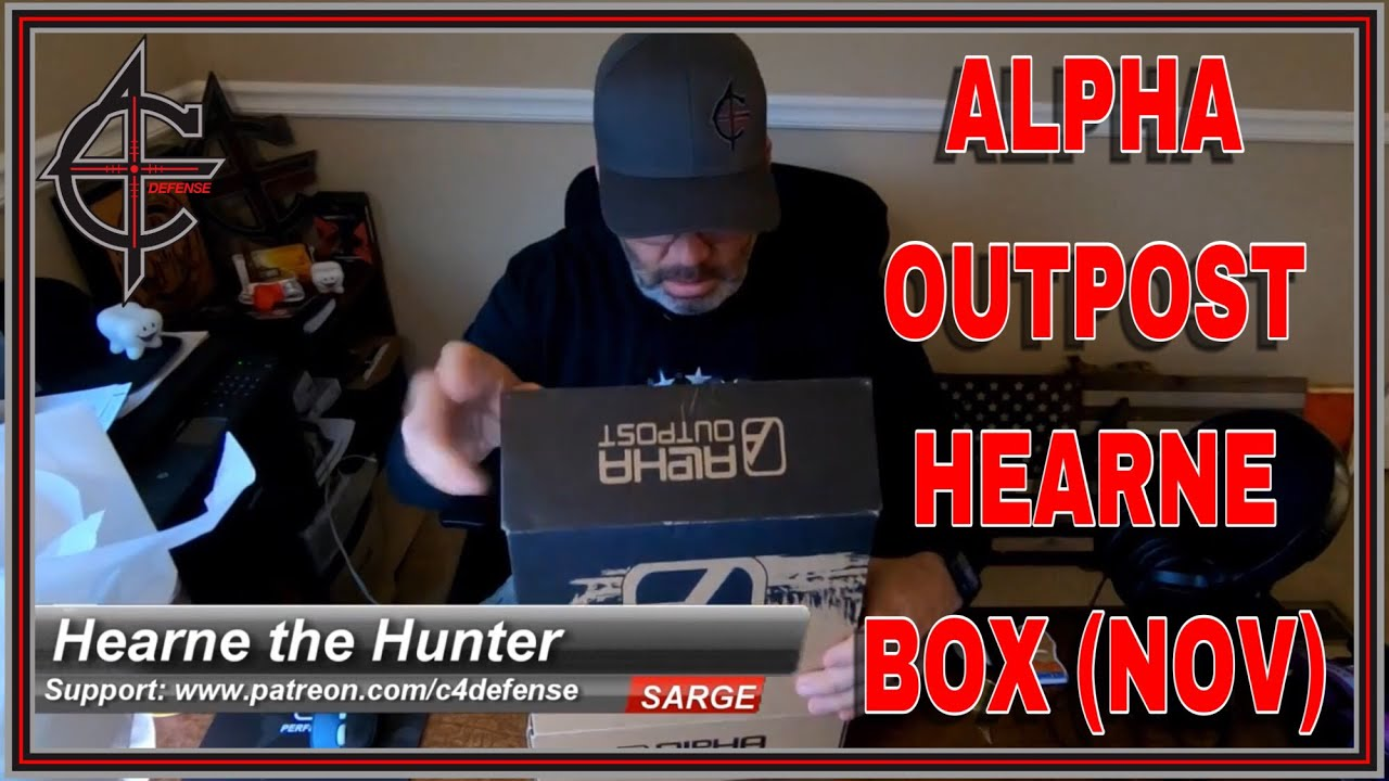 Alpha Outpost Hearne Box November 2018
