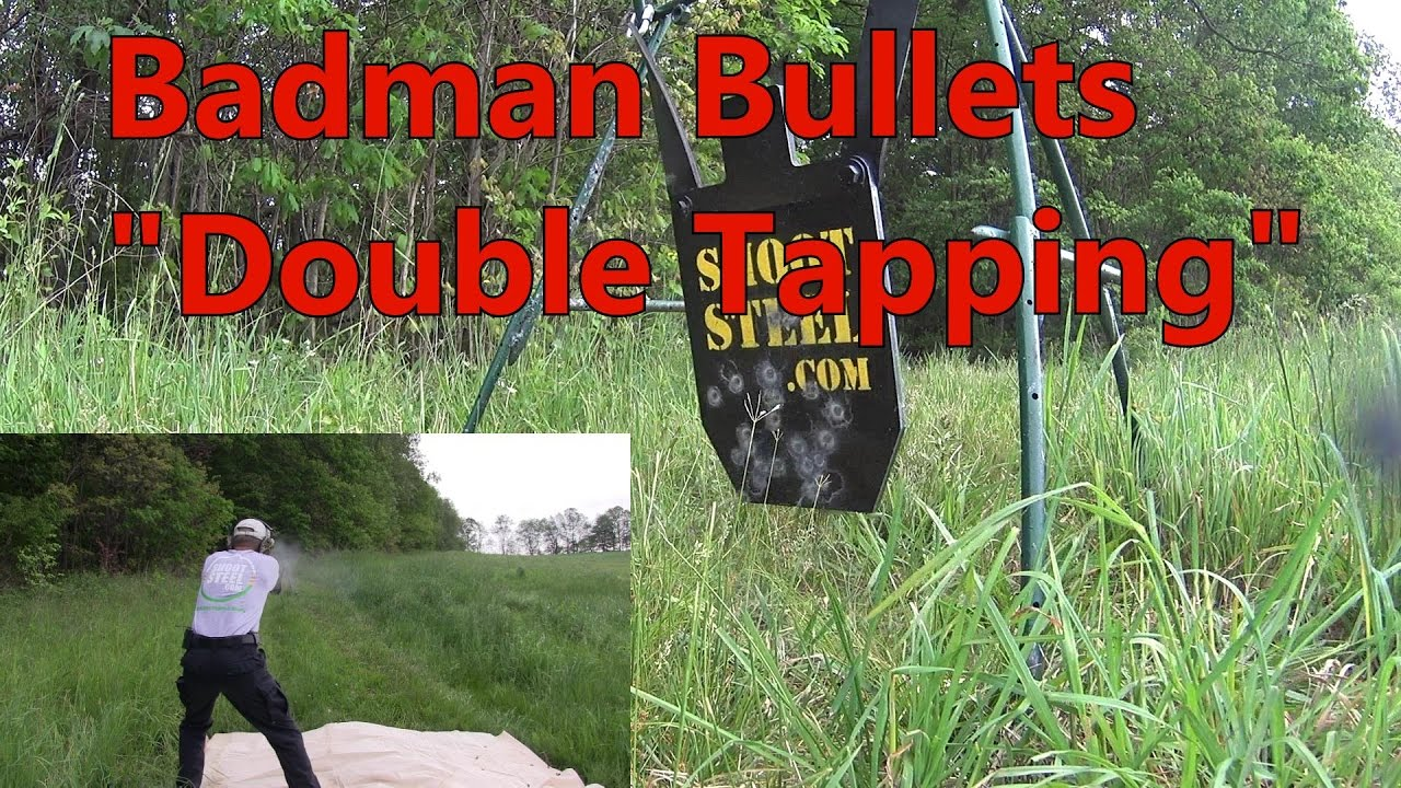 Badman Glock 26 and 42 1st Test Outdoors Working On My Double Taps