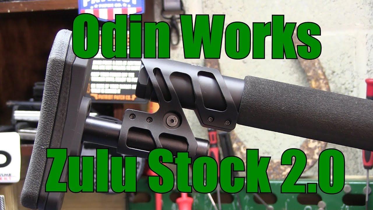 Odin Works Zulu Stock 2.0 1st look