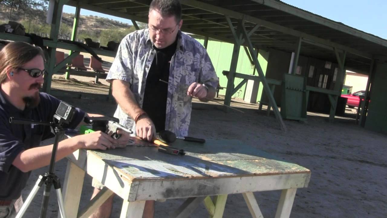 Frommer 1910: Test Firing (well, trying to)