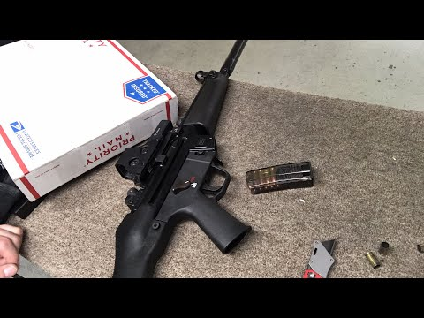 C4 Defense TacSnuggie Unboxing With MP5 testing