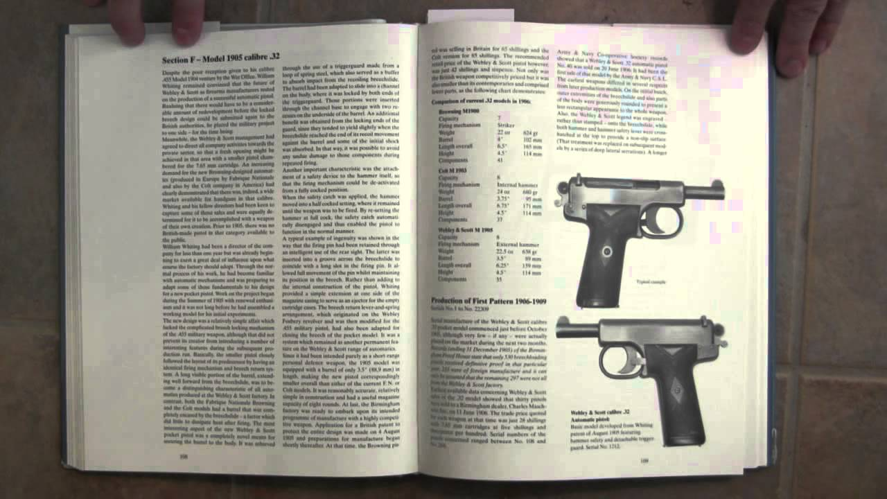 Book Review: Webley & Scott Automatic Pistols