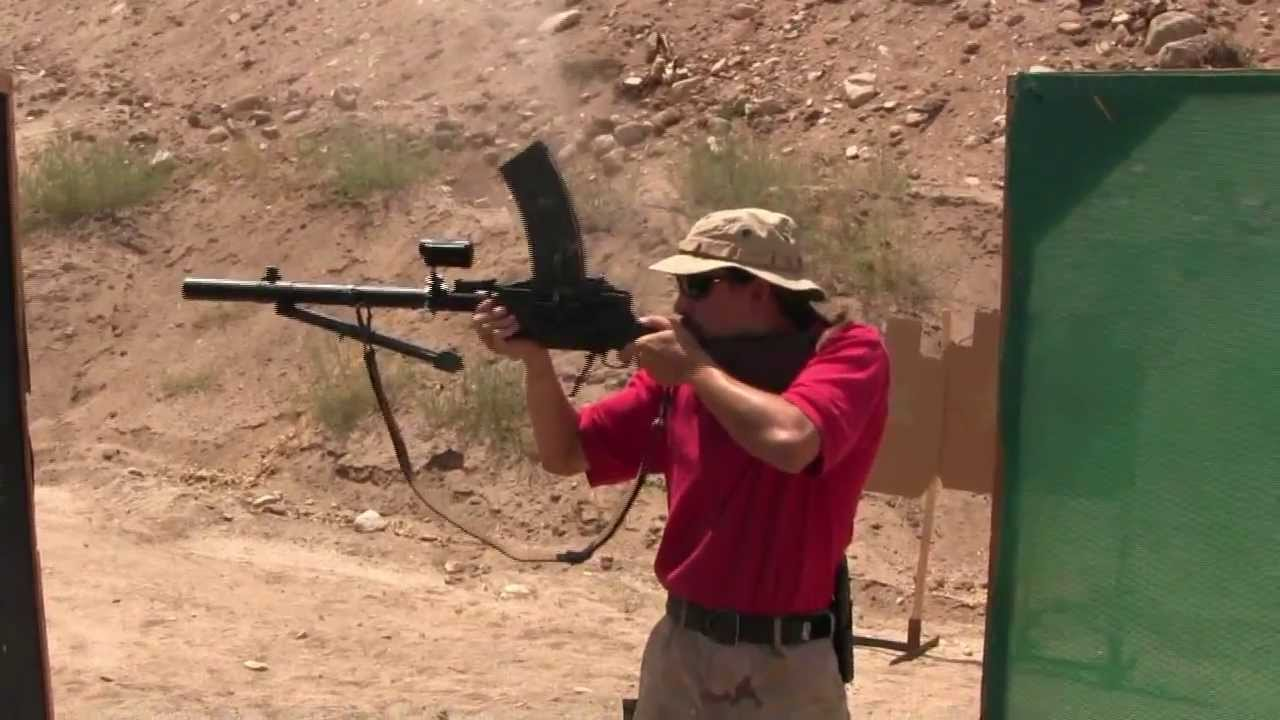 2-Gun Action Match with a Madsen LMG