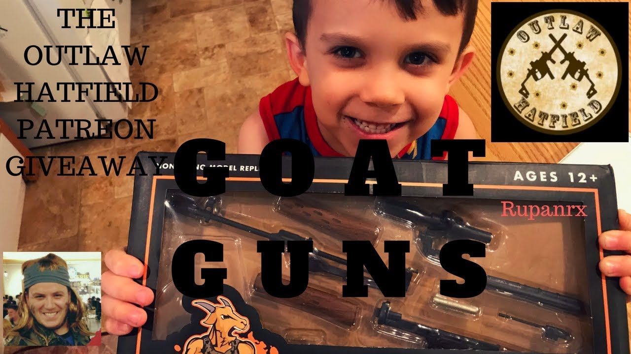 The Outlaw Hatfield Patreon Goat Gun build (SVD)