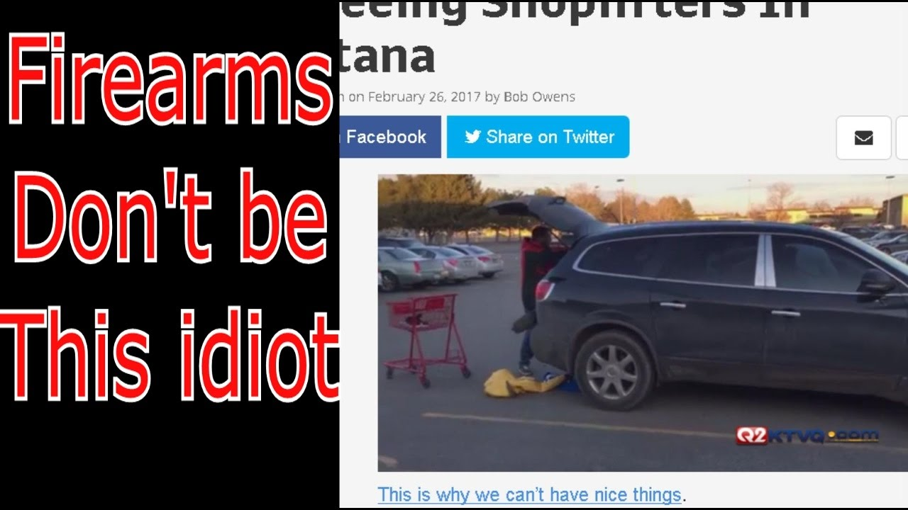 Firearms, Don't be this idiot #gunrights #guncontrol #GunsSaveLives #2A #constitution