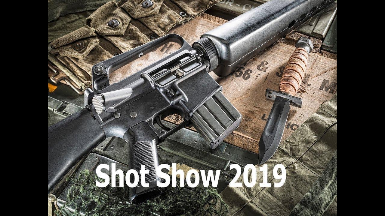 SHOT Show 2019: Brownells BRN-16 Retro Rifles