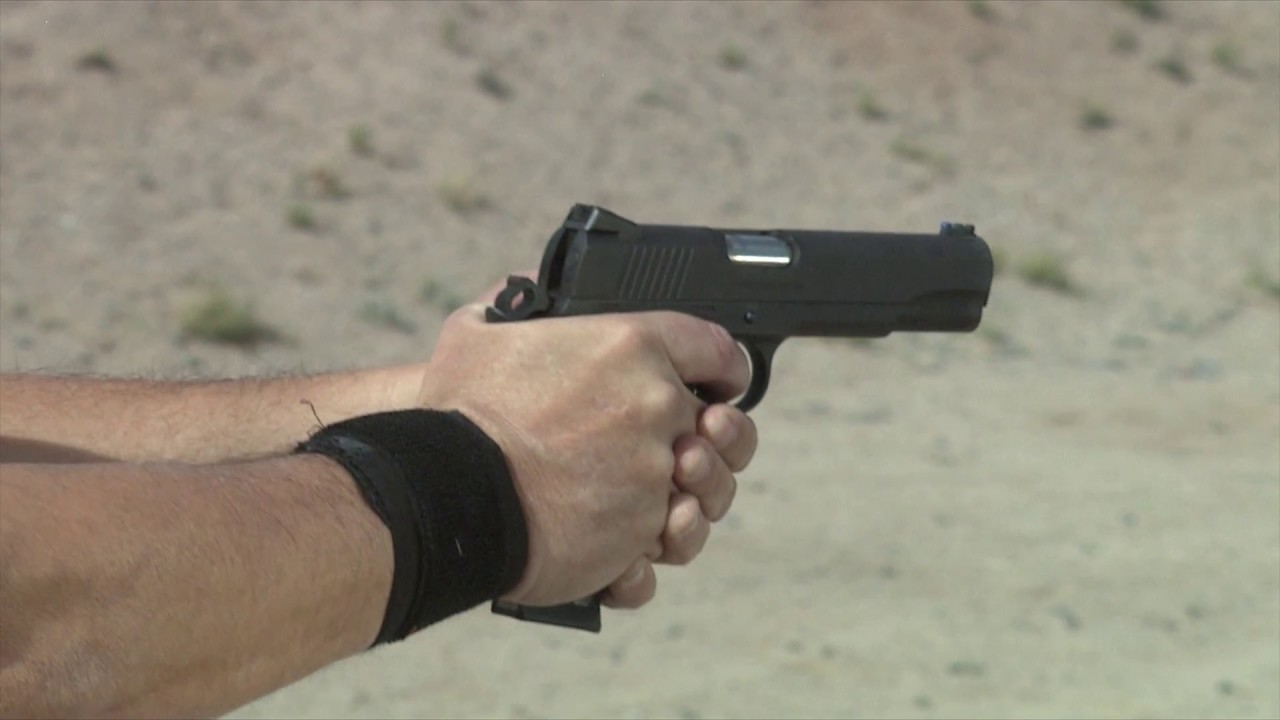 Colt Competition Pistol 9mm Slo-Mo #134