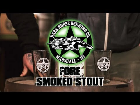 FORE SMOKED STOUT from DARK HORSE