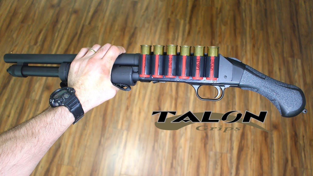 Install Talon Grips on Mossberg Shockwave (Granulate)