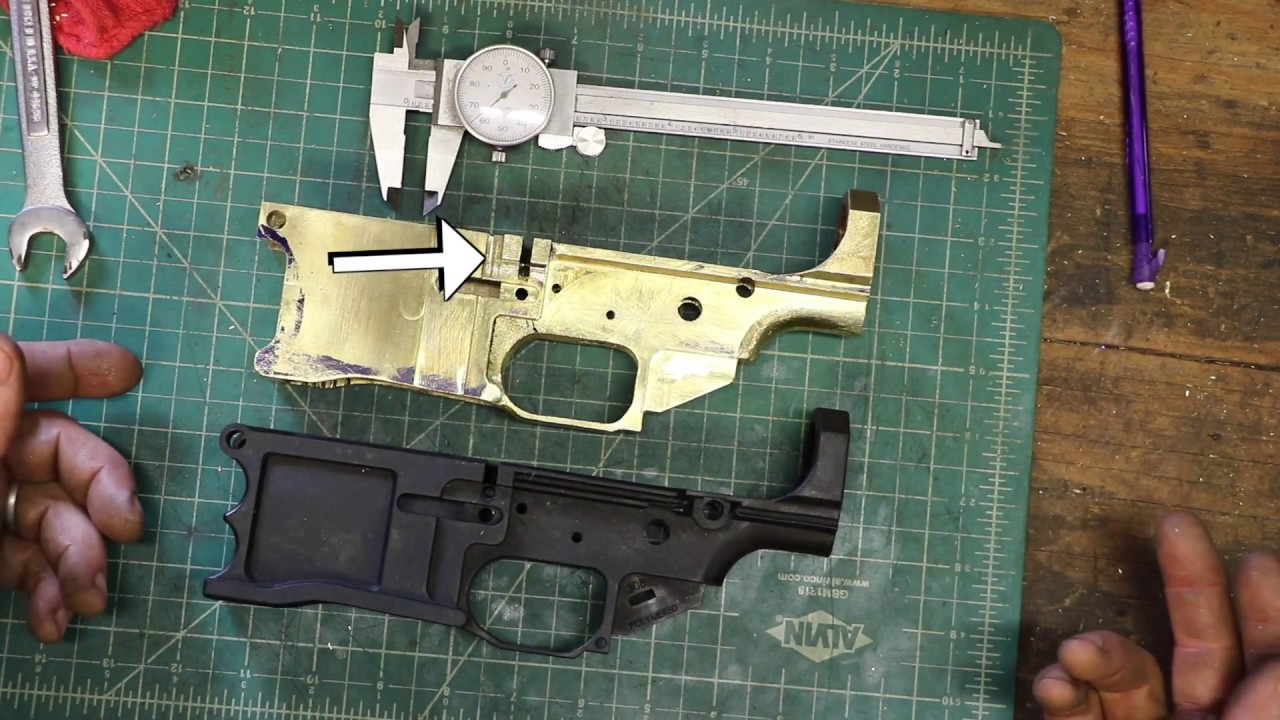Brass AR10 Complete Build Part 6