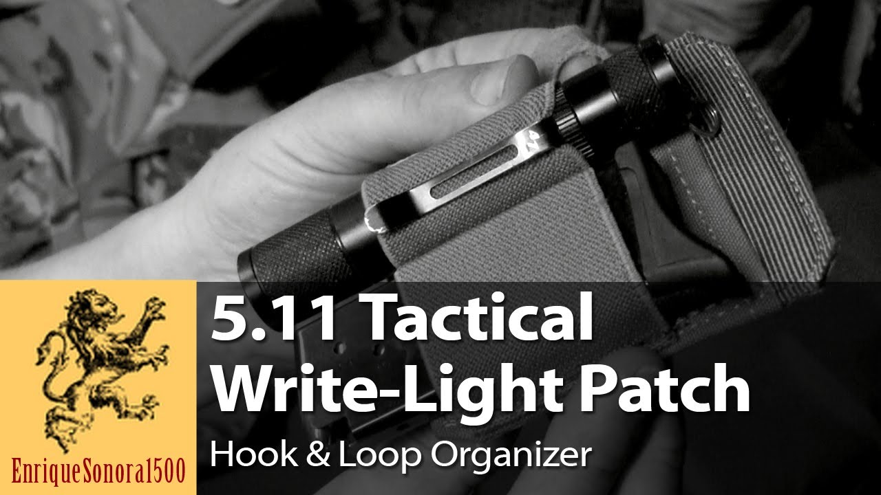 5.11 Light-Write Patch — EDC Accessory