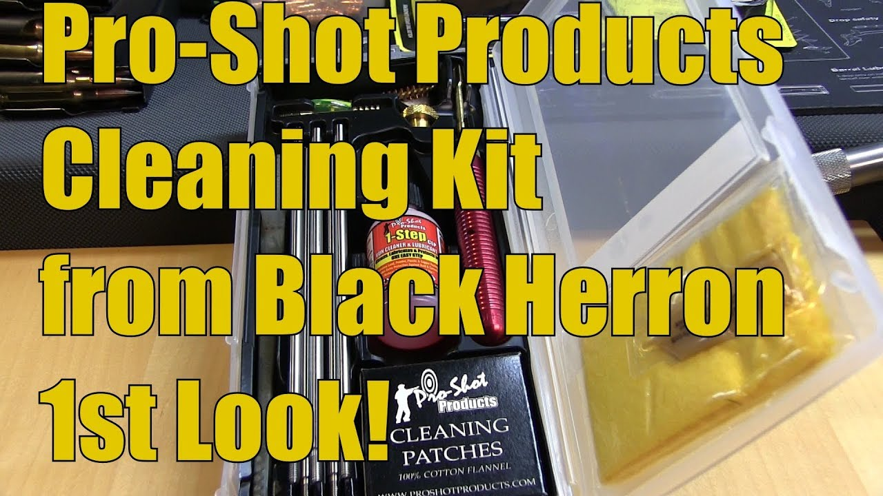 Pro Shot Products Gun Cleaning Kit 25 cal 6.5mm from Black Herron products  1st Look