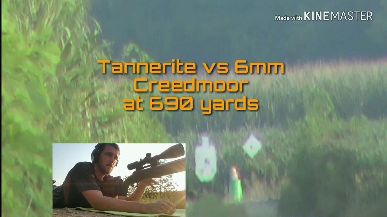 6mm Creedmoor vs Tannerite at 690 Yards