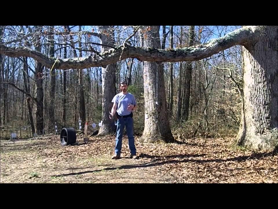 The GunFather Trick Shot Tuesday Humpty Dumpty Swinging Fast Draw