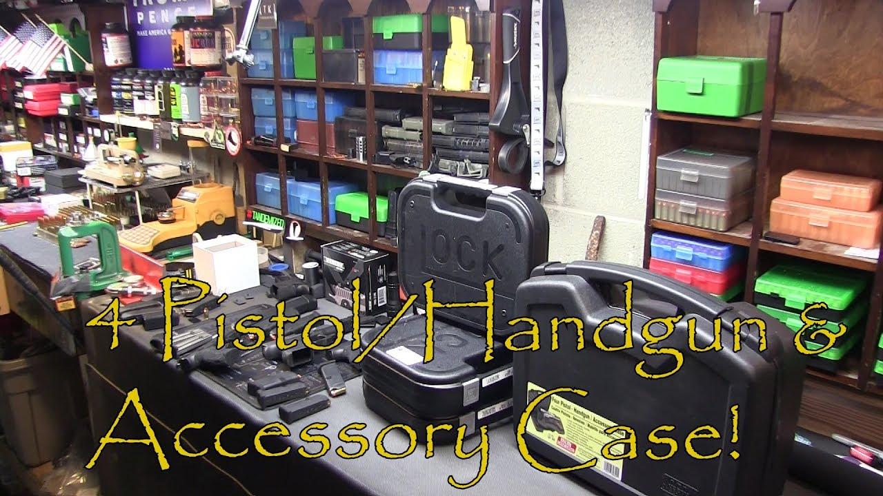 MTM Case Gard 4 Pistol Handgun and Accessory Case Review