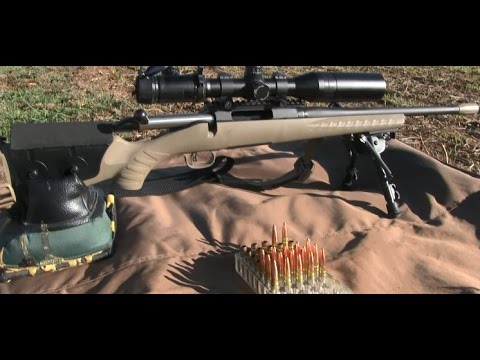 Lehigh Defense 300 Blackout 194gr Maximum Expansion 50 & 100 Yard Test Part 1 Ruger American