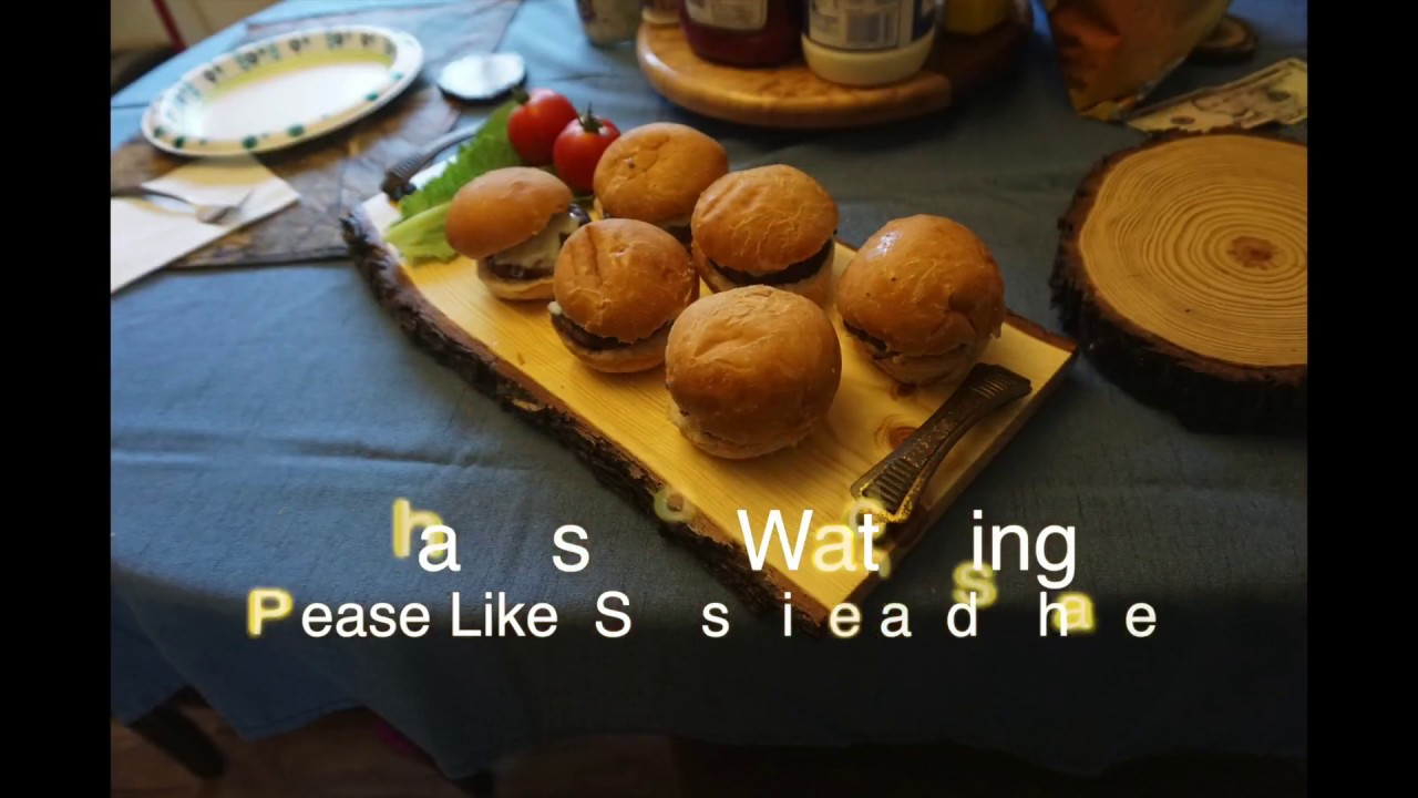 ITS A LIVE!!... Edge Serving Tray!  Sliders anyone?