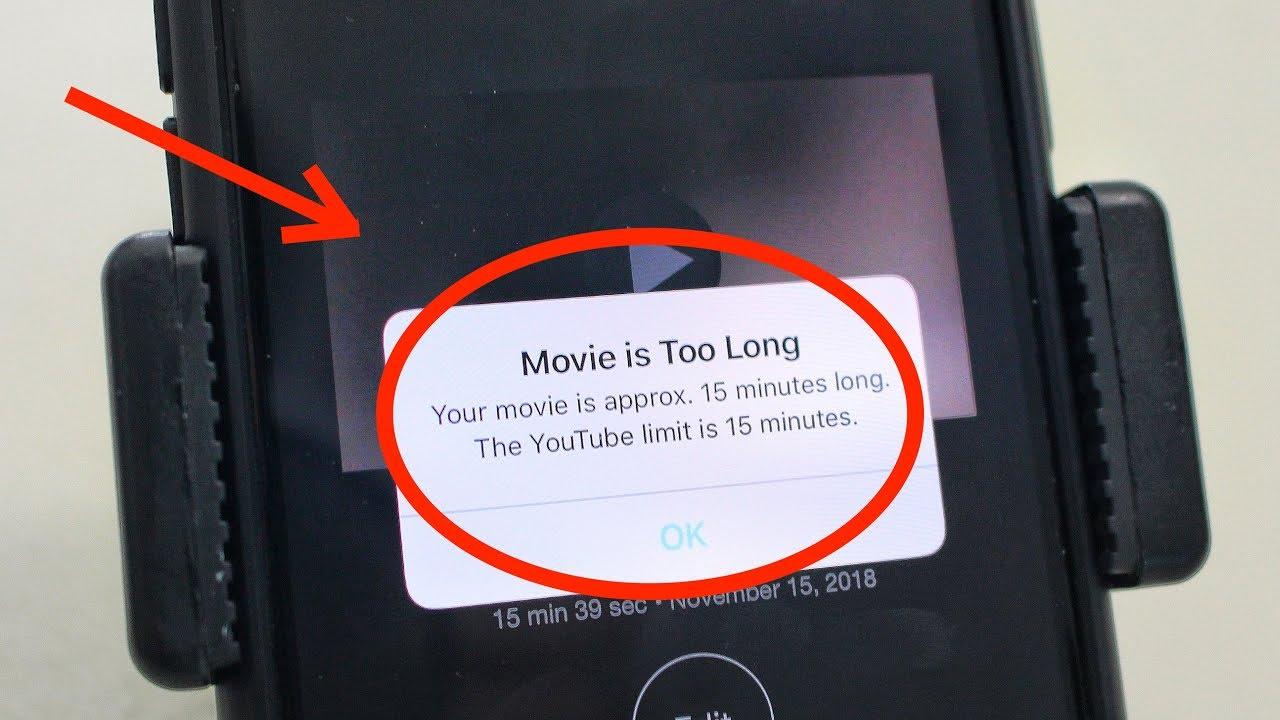 How to Upload iMovie Videos Longer Than 15 Minutes
