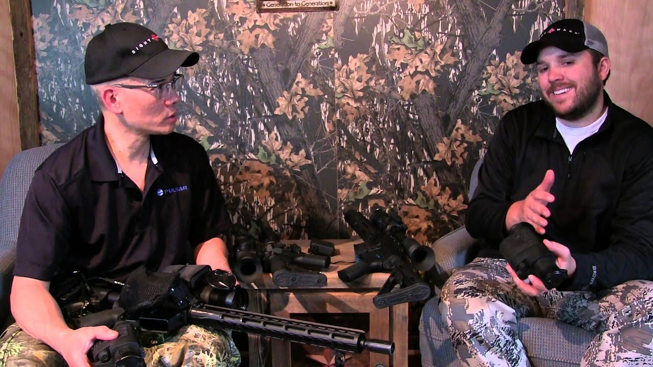 Texas Hog Hunt Pulsar Quantum Thermal Units with Jeff Murray of Sellmark by Nito Mortera