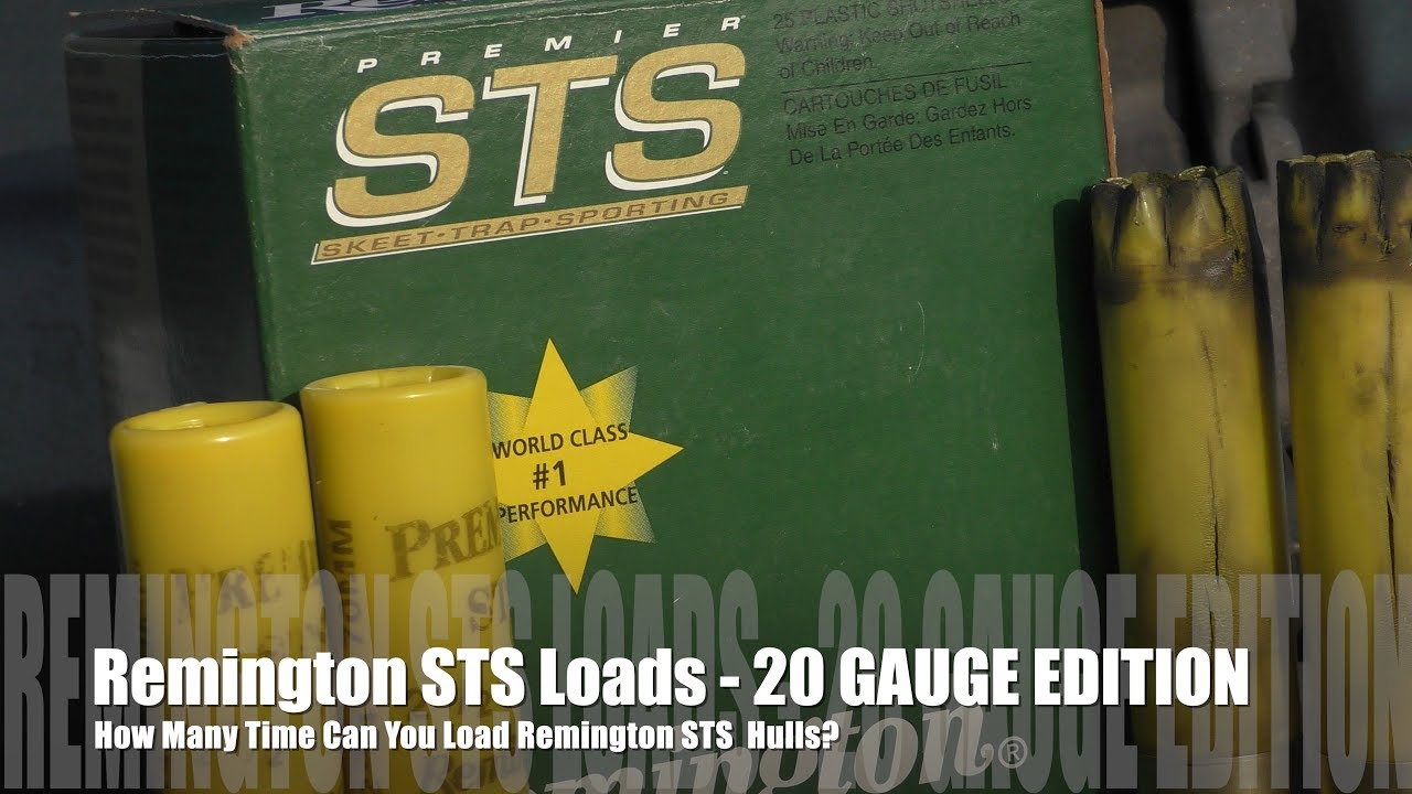 How Many Times Can You Load Remington STS - PROJECT 20 GAUGE EDITION!