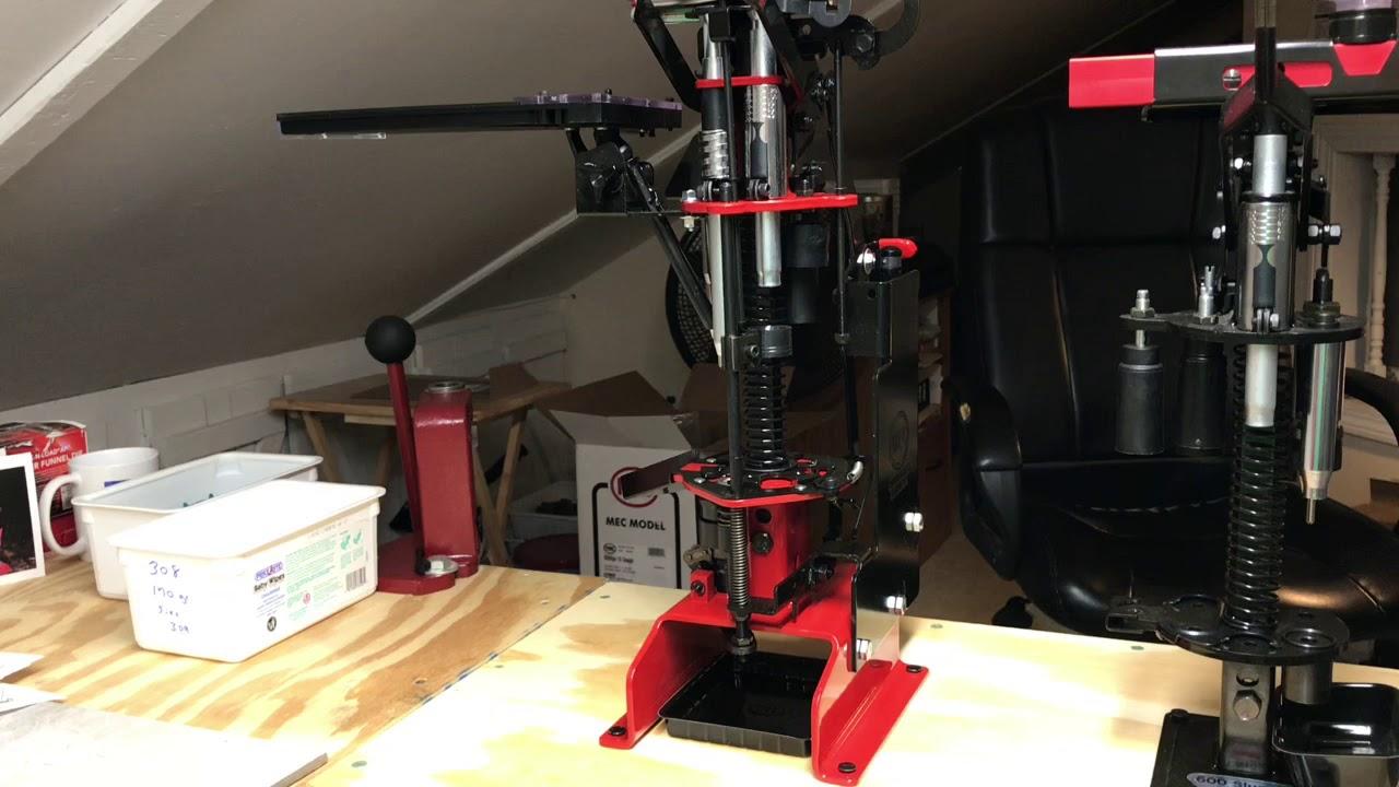 New mec reloading press
