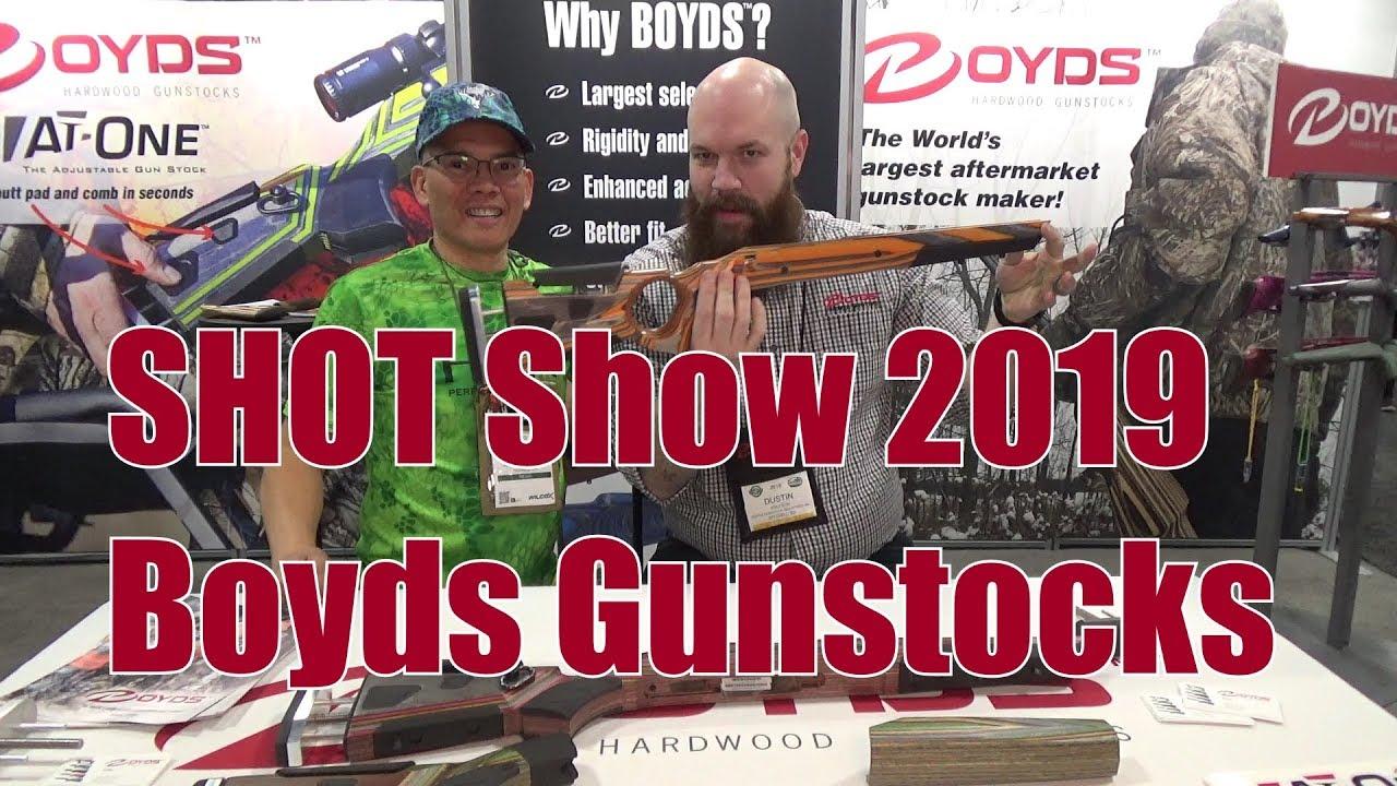 SHOT Show 2019 Boyds Gunstocks