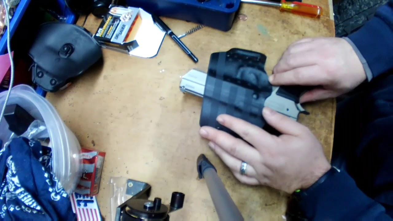 Bullseye holsters: TriStar/CZ 75 holster