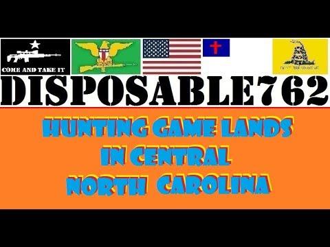 Hunting on Game Lands Central North Carolina