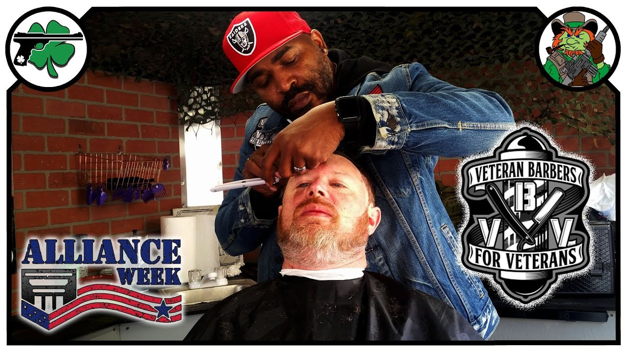 BEST Haircut EVER! - Veteran Barbers For Veterans During Alliance Week 2019