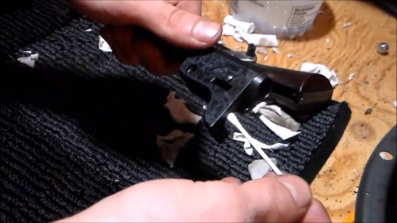 Colt 1851 Navy Revolver Disassembly and Cleaning Part 2