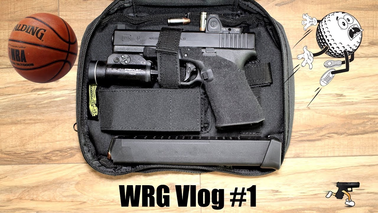Vlog- Zeroing Trijicon RMR for Surgical Accuracy on Glock 19