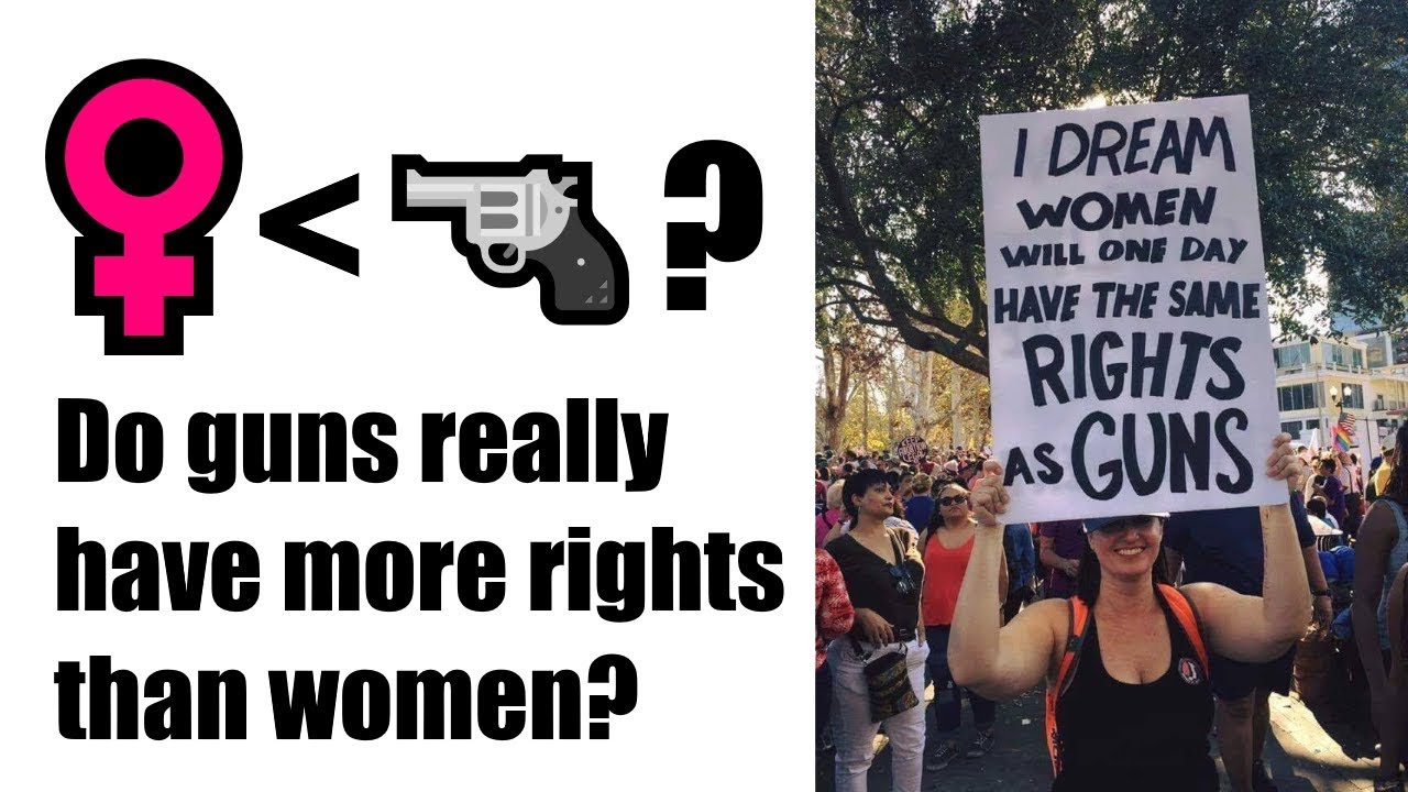 I Dream women will one day have the same rights as guns! @RunNGunsNews