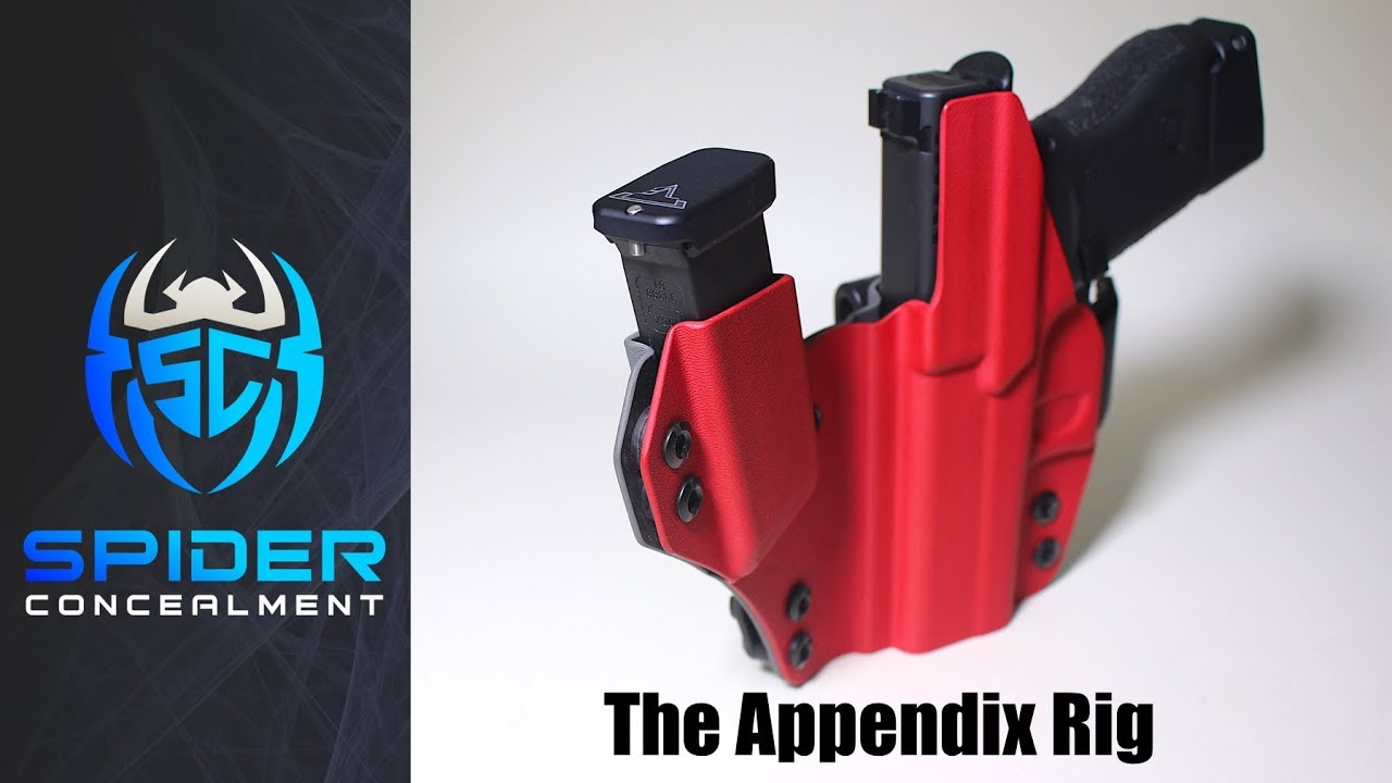 Glock 43 Appendix Rig Review - Spider Concealment