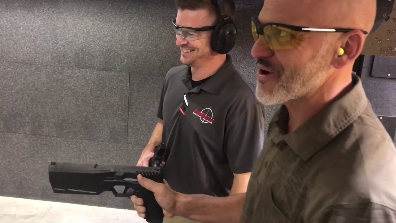 SilencerCo Maxim 9mm integrally suppressed pistol
