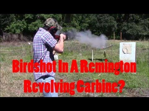 Birdshot In A Remington Revolving Carbine?